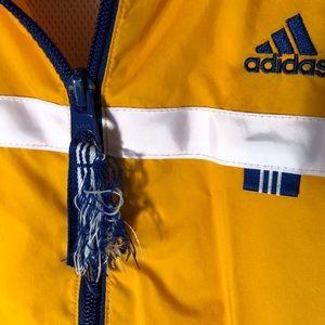 adidas Jackets & Coats - Yellow Adidas Windbreaker